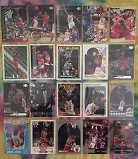 Michael Jordan NBA 140 Collector Cards Lot - No Duplicates