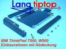 Marco de montaje para IBM ThinkPad T500, W500 +CUBIERTA+TORNILLOS
