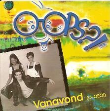 OOPS?! - vanavond (o-oeo!) CDS!! eurodance 1999 RARE!!!