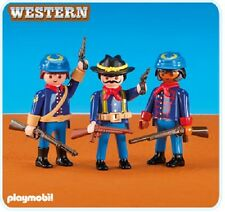 Playmobil Western 6274 3 Union Soldiers II NEW Cowboy Indian