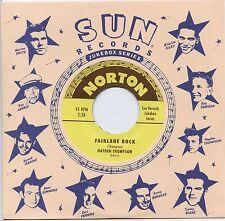 "HAYDEN THOMPSON 'Fairlane Rock / ERNIE BARTON 'She's Gone Away 7"" NEW Sun Elvis"