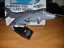 British Aerospace Sea Harrier FRS Mk I - Scala 1:72 Die Cast - RAF Mod - Nuovo