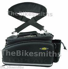 Topeak TT9643B DXP Strap-on Trunk Bag w/ Folding Panniers & Bottle Holder