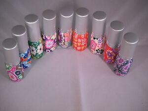 Beautiful Perfume Atomiser 6ml- Ceramic Effect-Refillable FREE GIFT SEE BELOW