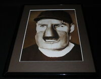 Clint Benedict 1930 Framed 11x14 Photo Display