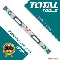 Total Tools - MAGNETIC SPIRIT LEVEL 800MM Builders Professional Hand Box Tool