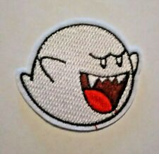 "US SELLER!!! BOO ~ IRON ON PATCH ~ 2.5"" x 2.25"" PATCH ~ SUPER MARIO BROS. ~ NEW"
