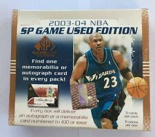2003-04 Upper Deck SP Game Used Basketball Hobby Box Lebron Rookie? Autograph?