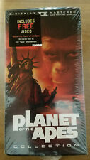 Planet of the Apes Special Collectors Edition New/Sealed 6 VHS Movies Box Set