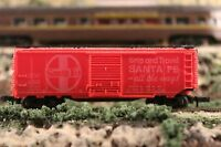 N Scale Arnold Rapido Red Santa Fe Ship and Travel all the Way Box Car ATSF4006