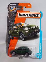 Matchbox 2017 MBX City Action Series #3 '16 Fiat 500X Green