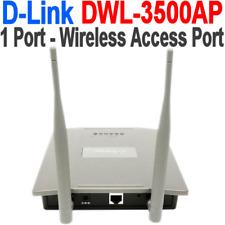 D-LINK DWL-3500AP WIRELESS UNIFIED ACCESS POINT 1 LAN POE PORT 802.11b/g