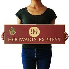 Harry Potter Hogwarts Wizardry Express Platform Kids Movie Poster Free Shipping