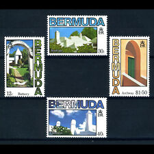 BERMUDA 1985 Architecture. SG 486-489. Mint Never Hinged. (AX478)