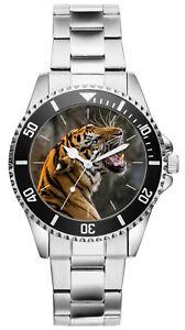 Tiger Geschenk Artikel Fan Uhr 20496