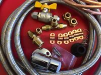 The Ultimate Weber Q to Caravan gas line hose bayonet retrofit LP & Nat Gas kit