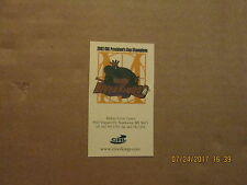 CHL Riverkings 2002 CHL President's Cup Champions Logo Hockey Business Card