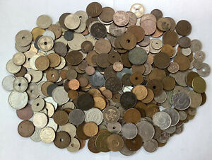 Norway Denmark And Sweden Lot X400 Antique And Modern Coins #N14