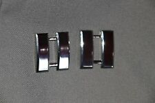 GENUINE US WW2 - TODAY FULL SIZE CAPTAIN COLLAR RANK BADGES INSIGNIA