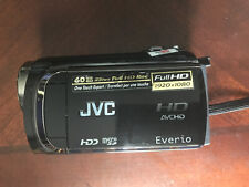 JVC Everio GZ-HD300BU Full HD Camcorder With remote, Charger, And Software