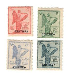 eritrea 1922 vittoria S.10 nuova linguellata fra.772