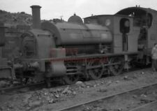 PHOTO  GWR 2195 IN THE DUMP AT SWINDON WORKS