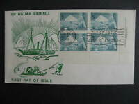 Canada Grenfell ARC cachet FDC First day cover Sc 438 plate block