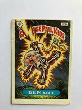 1987 Garbage Pail Kids UK series 5 GPK 5TH n°179a Ben Bolt