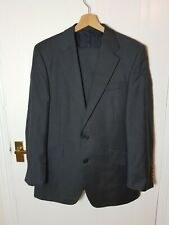 AQUASCUTUM Mens Two Piece Suit Size 38S 38 Grey