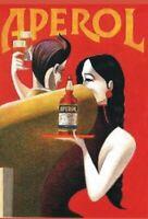 """TARGA VINTAGE """"APEROL ANNI '90"""" PUBBLICITA',LIQUOR ADVERTISING,POSTER, APERITIVO"""