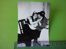 Altes Foto Dienstmädchen junger Mann Mädchen Flirt Liebe, old vintage photo