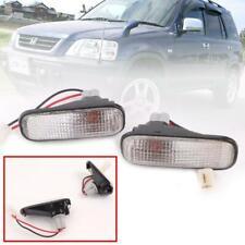 Side Marker Lamp Turn Signal Light White Lens For Honda CR-V CRV RD1 1995-2001