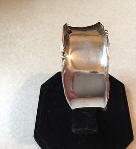 Retired Silpada Sterling Silver Curved Edge Cuff Bracelet B1435