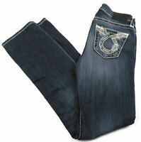 Size 25 x R Big Star Women's Jeans NINA Stretch Straight Leg Denim Pants