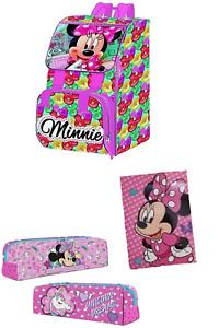 Set Zaino Scuola Estensibile Minnie Mouse + Astuccio Tombolino + Diario 10 Mesi