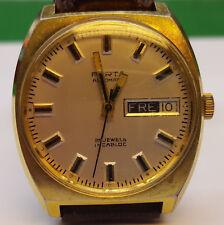 PORTA Armbanduhr Uhr Automatic 25 Jewels Swiss Incabloc