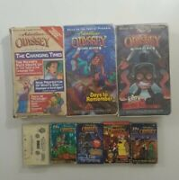 Adventures In Odyssey Cassette Lot of 8 Titles (23 Cassettes) SEE DESCRIPTION