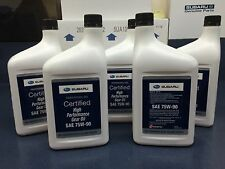 Subaru 75W90 Extra S Gear & Transmission Fluid - 5 quart Bottles Sti Wrx Genuine