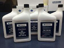 Subaru 75W90 Extra S Gear & Transmission Fluid - 5 quart Bottles Sti Wrx Genuine