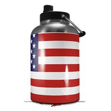 Skin Wrap for Rtic 1 Gallon Jug Usa American Flag 01 Jug Not Included