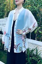 Citron Clothing New with Tag 100%Silk Georgette Plus Size Dragonfly