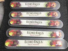 5 ECHO FALLS CUSHIONED NAIL FILES