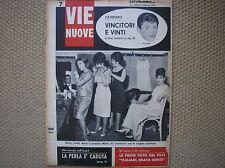 FESTIVAL SANREMO TONY RENIS MILVA BETTY CURTIS COCKY MAZZETTI VIE NUOVE 1963