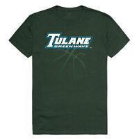 Tulane University Green Wave NCAA Basketball Tee T-Shirt