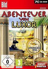 Abenteuer von Luxor - Wimmelbild Spiel für Pc Neu/Ovp