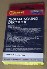 Hornby TTS Digital Sound Decoder, R8115, (Unrebuilt) Merchant Navy