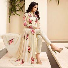 Indian Stylish Designer Bollywood Party Anarkali Salwar Suit Kameez Dress Women