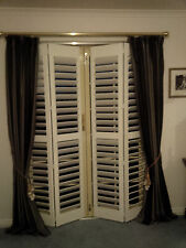 Timber Internal Plantation Shutters Custom Made With Framing Windows Hinged