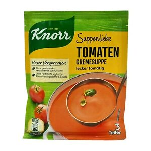 6x Knorr Suppenliebe 🍲 Tomaten Cremesuppe tomato cream soup ✈TRACKED SHIPPING