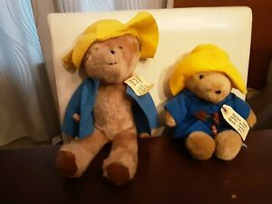 "Vintage Plush Paddington Bear 18""Eden Toys USA 1970s SEWN IN HAITI + 30th Anvrsy"